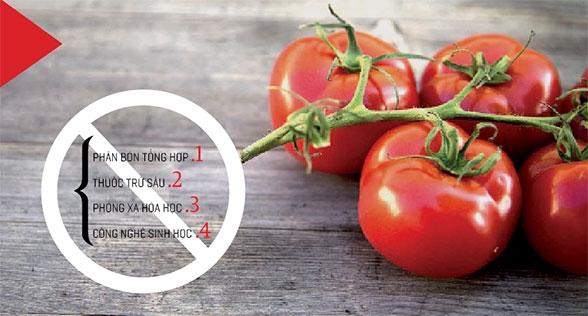 Theo Bộ Nông nghiệp Mỹ (USDA), để được chứng nhận hữu cơ, nông sản phải được nuôi trồng, chế biến và bảo quản trong điều kiện: Không Phân bón tổng hợp; thuốc trừ sâu; phóng xã hóa học; công nghệ sinh học.