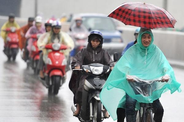 Hà Nội và các tỉnh Bắc Bộ rời dịu mát dần