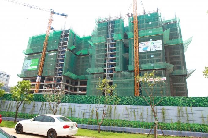 Ecolife Capitol xây xong sàn tầng 20, sẽ bàn giao căn hộ cho khách hàngvào quý 2/2017.