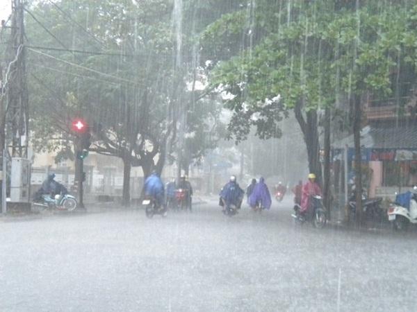Bắc Bộ tiếp tục có mưa giông. Ảnh: minh họa