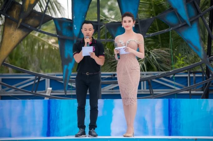 Á hậu 1 Hoa Hậu Việt Nam 2014 Huyền My đảm nhận vai trò dẫn dắt cuộc thi