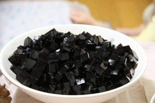 Thạch đen, một trong những loại thực phẩm