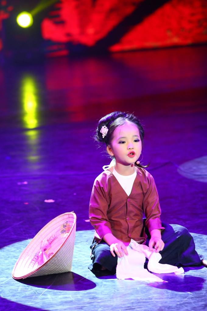 Tài năng xẩm nhí Mai Anh sẽ biểu diễn tại chương trình.