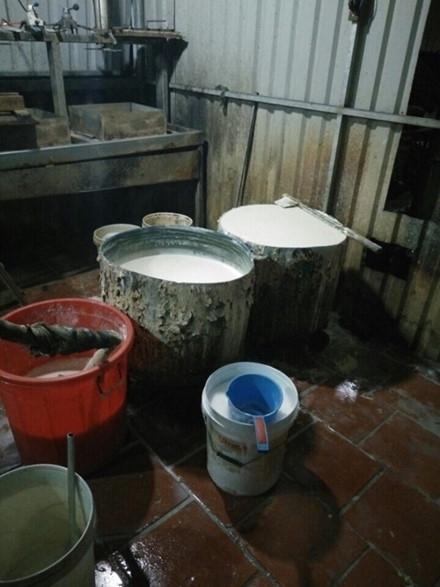 Bình Thuận: Phát hiện cơ sở sản xuất đậu hũ bằng thạch cao