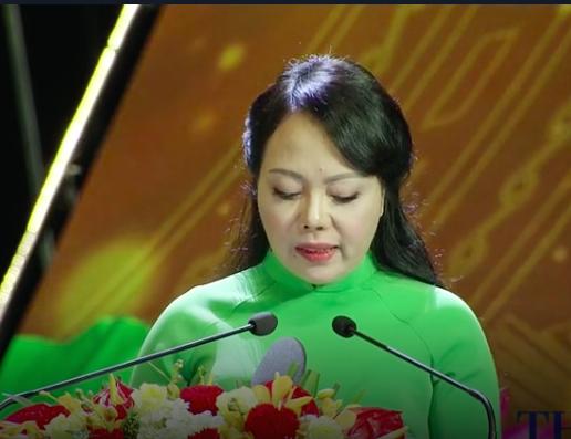 Bộ trưởng Bộ Y tế Nguyễn Thị Kim Tiến khẳng định quyết tâm của ngành y tế trong công tác chăm sóc sức khỏe người dân.Ảnh: Sức khỏe đời sống