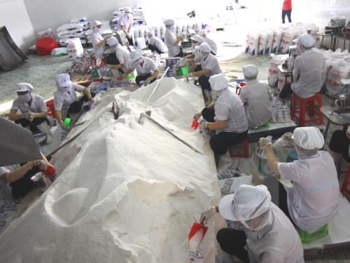 Chính Phủ vừa ban hành Nghị định về quản lý sản xuất, chế biến, kinh doanh muối. Ảnh: minh họa/ Nguồn: TTXVN