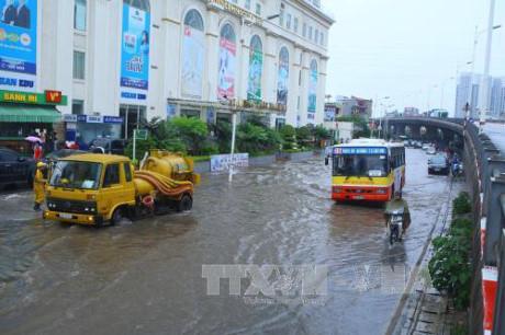 Bắc Bộ tiếp tục có mưa giông trong những ngày tới. Ảnh: minh họa/Ảnh: Huy Hùng/TTXVN