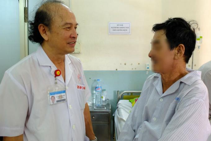 Người bệnh phục hồi nhanh chóng sau ca phẫu thuật.