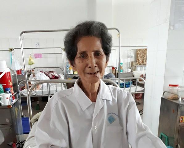 Bệnh nhân Hứa Thị Thọ đã qua cơn nguy kịch và sắp xuất viện