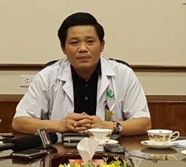 Ông Nguyễn Duy Ánh, Giám đốc BV Phụ sản Hà Nội.