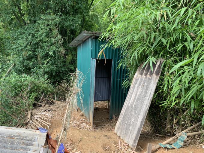 Nhà tiêu hợp vệ sinh do Tỉnh đoàn Điện Biên triển khai thực hiện