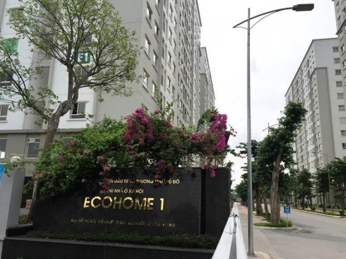 Tại EcoHome 1 nhiều kios đã được thuê làm ngân hàng, quán café, phòng tập thể thao...