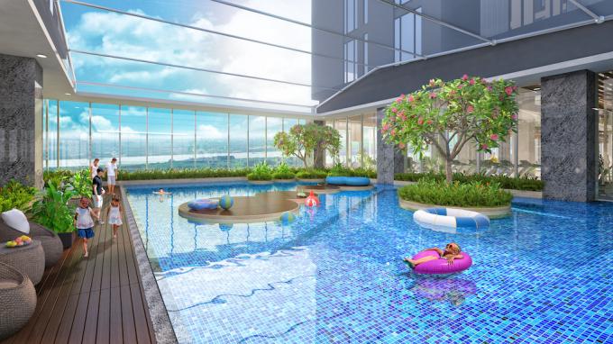 Bể bơi dành cho trẻ em