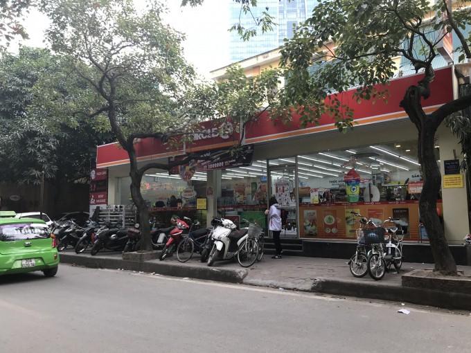 Công trình siêu thị Circle vẫn chưa được tháo dỡ.