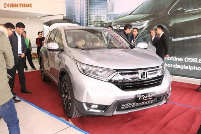 Honda CR-V 7 chỗ giá 963 triệu