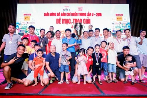 Đội FC Báo chí Thanh Hóa vô địch Giải bóng đá Miền trung, Tây Nguyên lần thứ V năm 2018