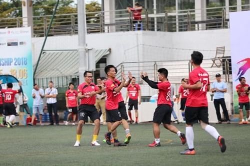 Một pha ăn mừng của JFC Đà Nẵng