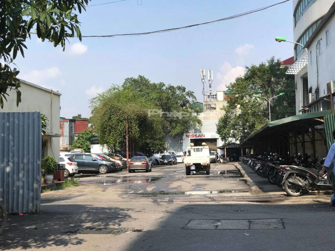 Bãi xe tại Khu B dự án xây dựng Văn phòng và dịch vụ thương mại số 434 đường Trần Khát Chân được UBND Thành phố Hà Nội là sử dụng không đúng mục đích sử dụng.