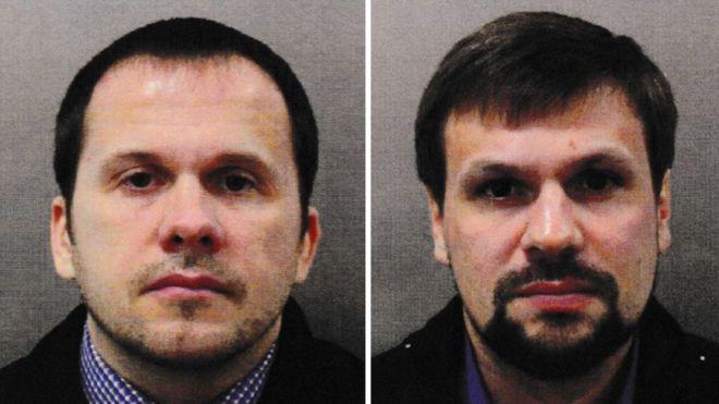2 công dân nga bị cáobuộcđầu độccựu điệp viên Sergei Skripal và con gái. (Ảnh: Getty)