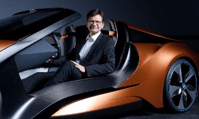 Klaus Frohlich - giám đốc phát triển sản phẩm của BMW.