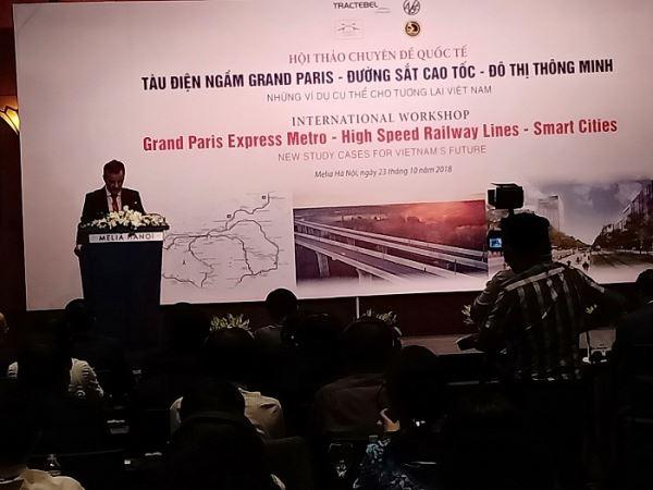 Khai mạc Hội thảo quốc tế về tàu điện ngầm, đường cao tốc và đô thị thông minh