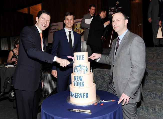 Năm 2006, Jared mua lại tờ New York Observer với giá 10 triệu USD. Theo một nguồn tin của tạp chí Time, cha của Jared - ông Charles Kushner, đã mua tờ báo này cho con trai làm