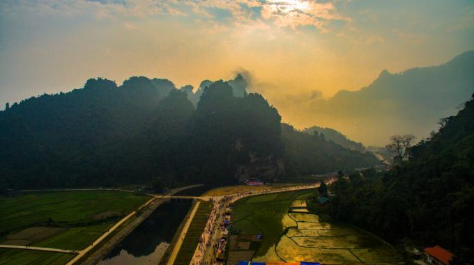 Non nước Lâm Bình (Tuyên Quang) qua góc nhìn của nhiếp ảnh Lưu Minh Phụng.