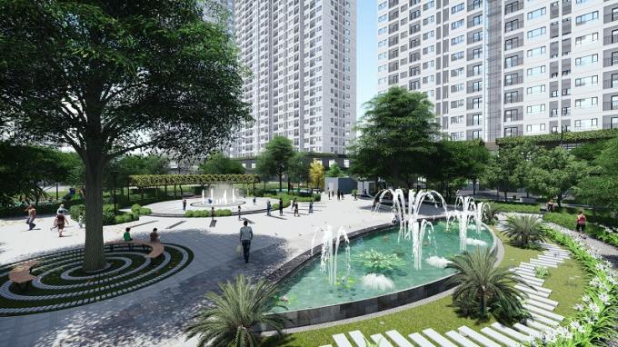 Tòa NO2, NO3 EcoHome 3 là dự án NƠXH đầu tiên đạt chứng chỉ xanh EDGE, có mức giá trung bình từ 16,5tr/m2