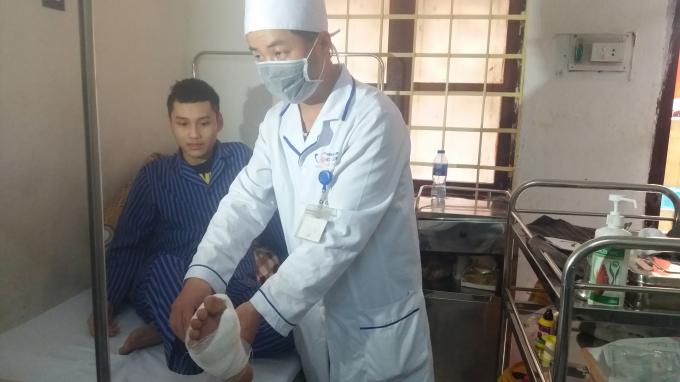 Bệnh nhân Lưu Quang Huy phải chi trả số tiền viện phí hơn 20 triệu đồng do không tham gia BHYT