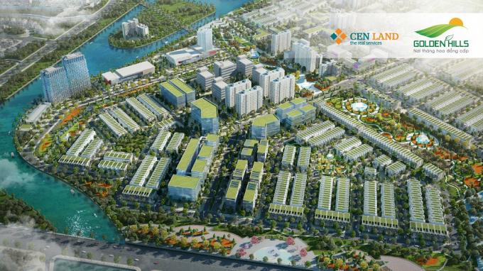 Khu E và B1 là 2 khu sở hữu nhiều lô đất thương mại giá trị.
