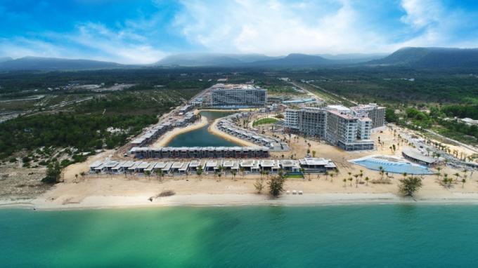 Mövenpick Resort Waverly Phú Quốc đang được hoàn thiện và sẽ đi vào   vận hành thử vào tháng 7/2019