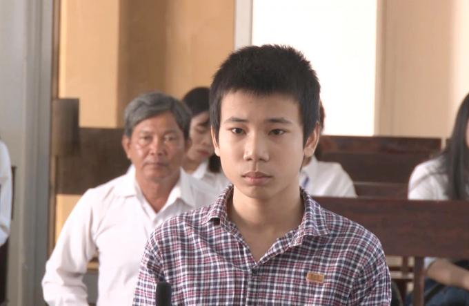 Bị cáo Lâm tại tòa