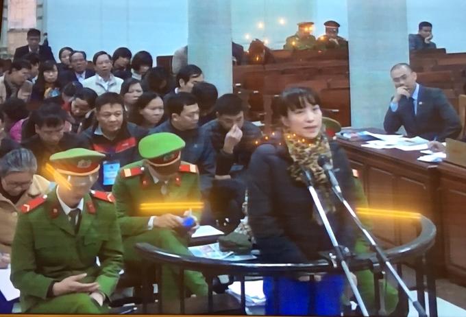 Phạm Thị Bích Lương - Nguyên giám đốc Ngân hàng Agribank chi nhánh Nam Hà Nội nói lời sau cùng trong nước mắt