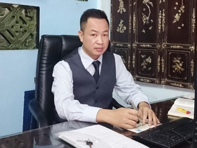 Luật sư Nguyễn Anh Thơm (VP Luật sư Nguyễn Anh – Đoàn LS Hà Nội).