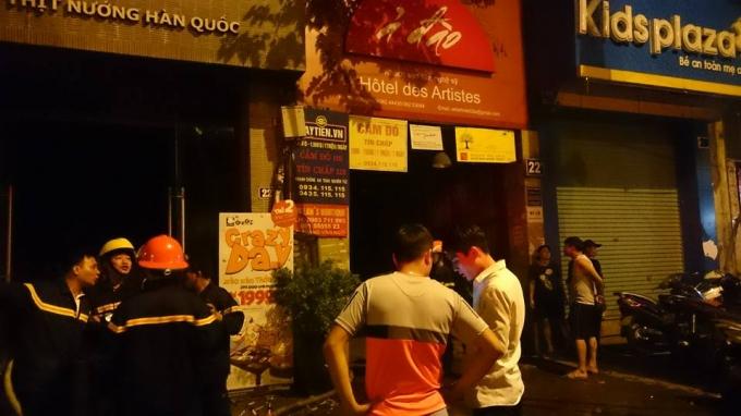 Hà Nội: Cháy tại nhà hàng nướng Hàn Quốc trên phố Hai Bà Trưng