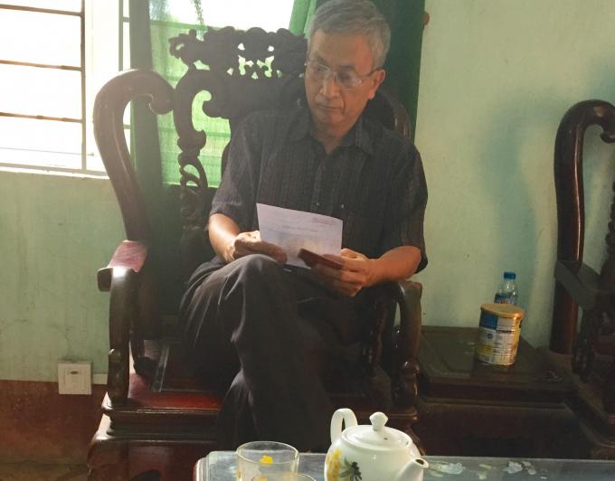 Ông Nguyễn Văn Hưng, Phó Chủ tịch UBND xã Chu Phan - Mê Linh (Hà Nội) suốt gần 10 năm dùng bằng đại học giả.