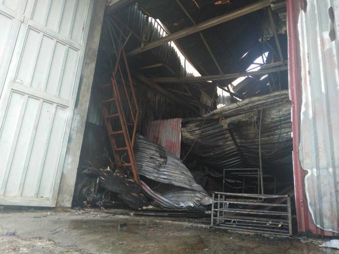 Vụ cháy xưởng khiến nhiều người bị thương vong.