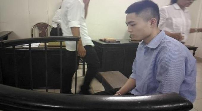 Bị cáo Vũ Văn Bình tại phiên xét xử đánh chết Đỗ Đăng Dư.