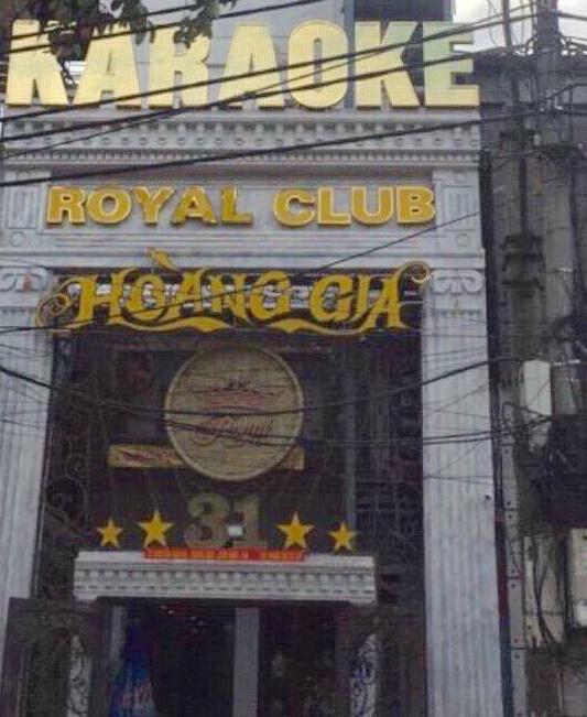 Quán karaoke tại số 31 Nguyễn Khang nơi xảy ra vụ việc trên.