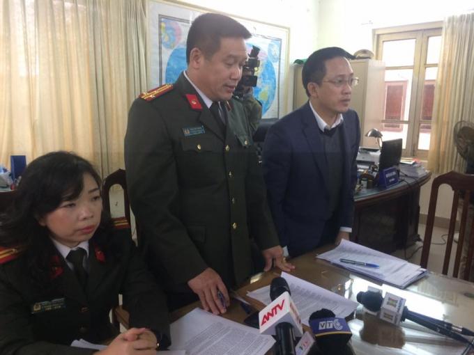 Công an TP Hà Nội thông tin về vụ án Nguyễn Thị Đào cùng đồng phạm mua bán trái phép hóa đơn GTGT với số tiền hơn 590 tỷ đồng.
