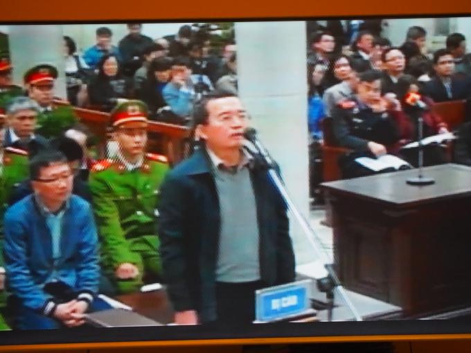 Bị cáo Nguyễn Quốc Khánh - Cựu phó tổng giám đốc PVN.