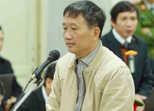 Bị cáo Trịnh Xuân Thanh (Ảnh: TTXVN)