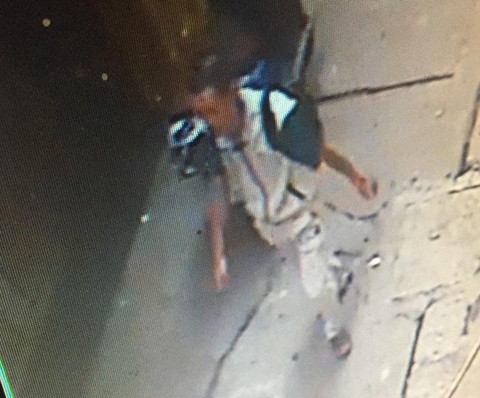 Chân dung nghi phạm được trích xuất từ camera an ninh.