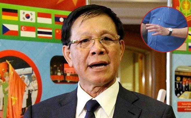 Đeo chiếc đồng hồ cao cấp có giá 7.000 USD, ông Vĩnh khai mua của Dương giá 1,1 tỷ đồng nhưng cơ quan điều tra xác định không có sự mua bán.