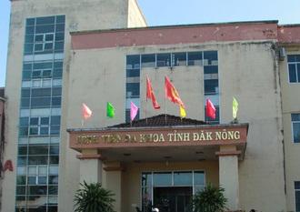 Bệnh viện Đa khoa tỉnh Đắk Nông.