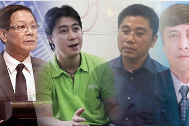 Ông Phan Văn Vĩnh bị truy tố cùng Nguyễn Thanh Hóa, Phan Sào Nam và Nguyễn Văn Dương.