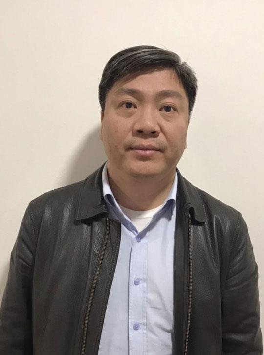 Bị can Nguyễn Xuân Giáp.
