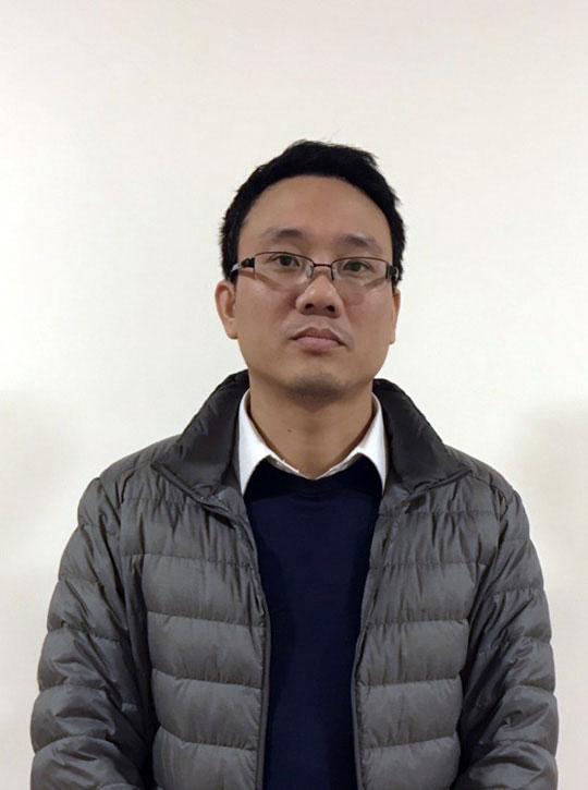Bị can Đặng Thanh Nam.