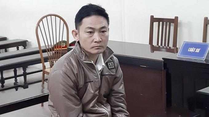 Bị cáo Ngọ Tuấn Hải.