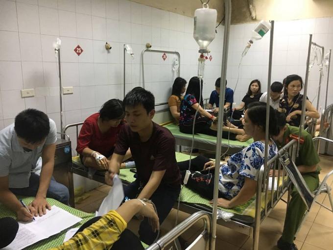 Sau khi được cấp cứu ban đầu, sức khỏe các công nhân đã dần ổn định, không nguy hiểm đến tính mạng, đang tiếp tục được điều trị, đến 21h cùng ngày, một số công nhân đã được cho xuất viện.